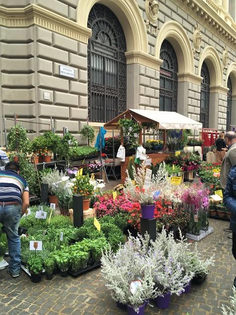 Fiori in Piazza Minghetti