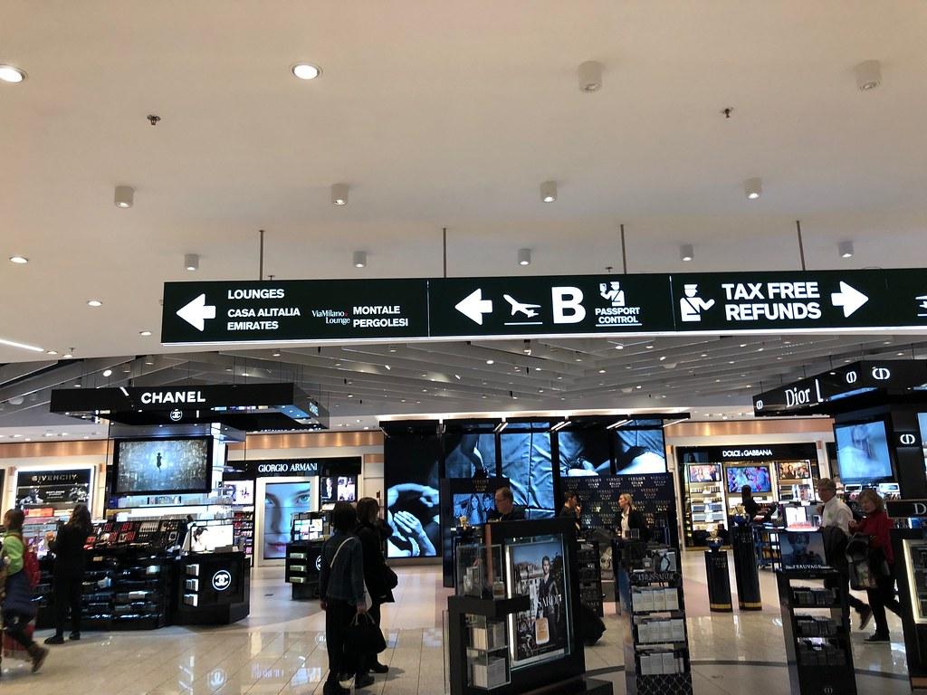 Emirates Lounge Milan MXP 8