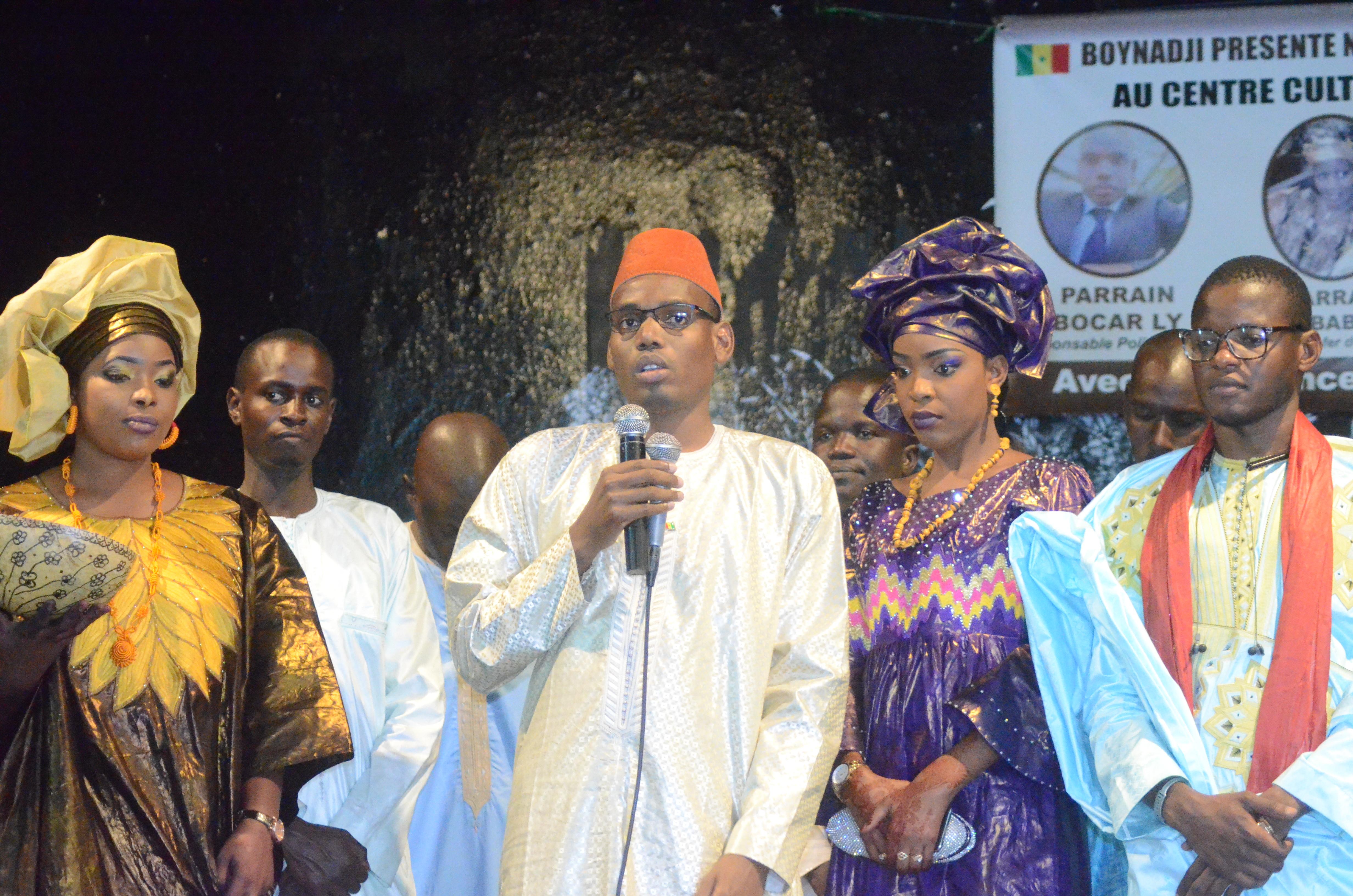 Première Edition soirée culturelle de l'Association Boyinadji Ma fierté de Bokidiawé, le parrain Bocar Abdoulaye Ly appelle à l'union des cœurs (44)