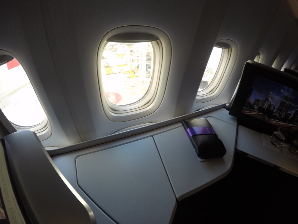 Virgin Australia business class 15