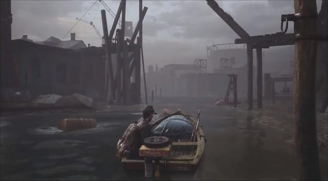 The Sinking City - Artwork