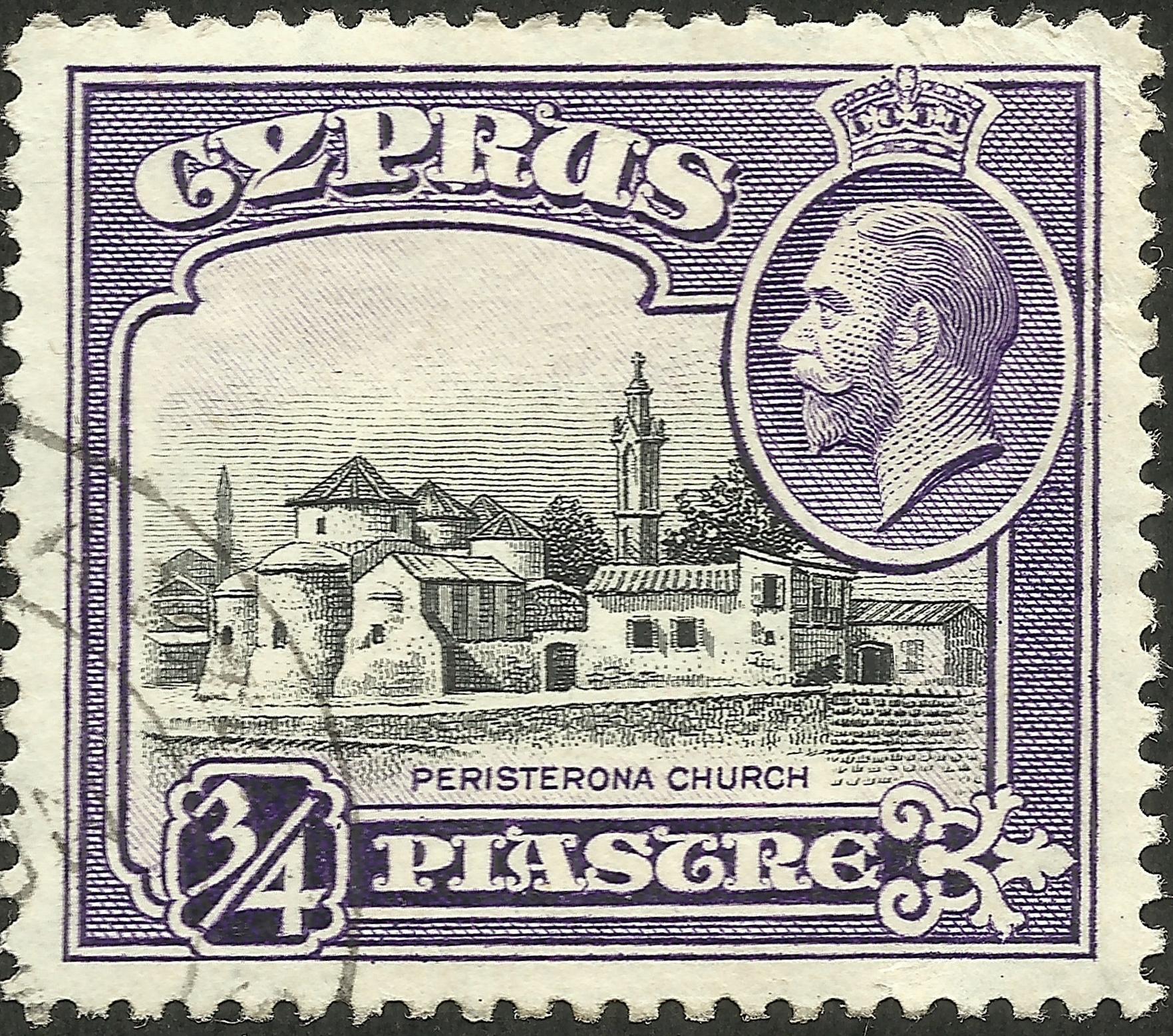 Cyprus - Scott #127 (1934)