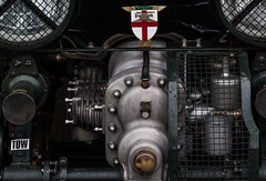 4.5 Litre Blower Bentley. (Not one of the original 50 supercharged cars) Goodwood Members Meeting