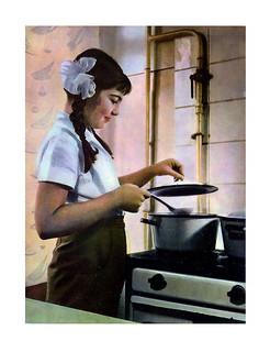 180 Юная кухарка