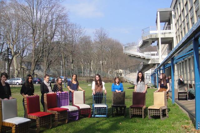 Un club de tapisserie au lycée des métiers Georges Lamarque