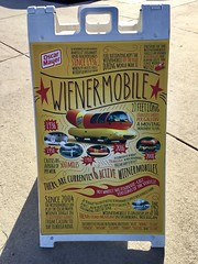 weinermobile sign