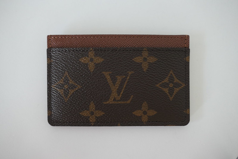 LV Monogram Canvas Card Holder