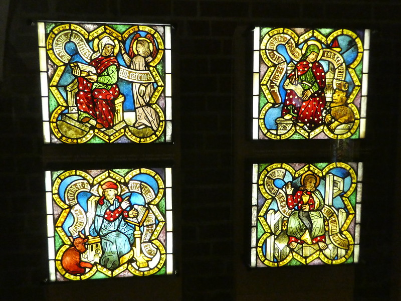 Stained glass exhibition, Malbork Castle
