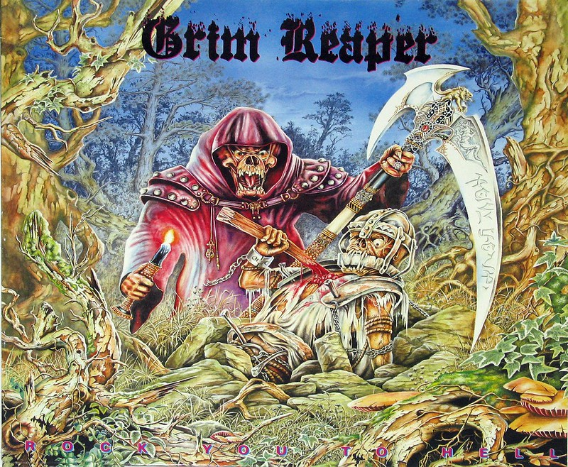 GRIM REAPER ROCK YOU TO HELL NWOBHM
