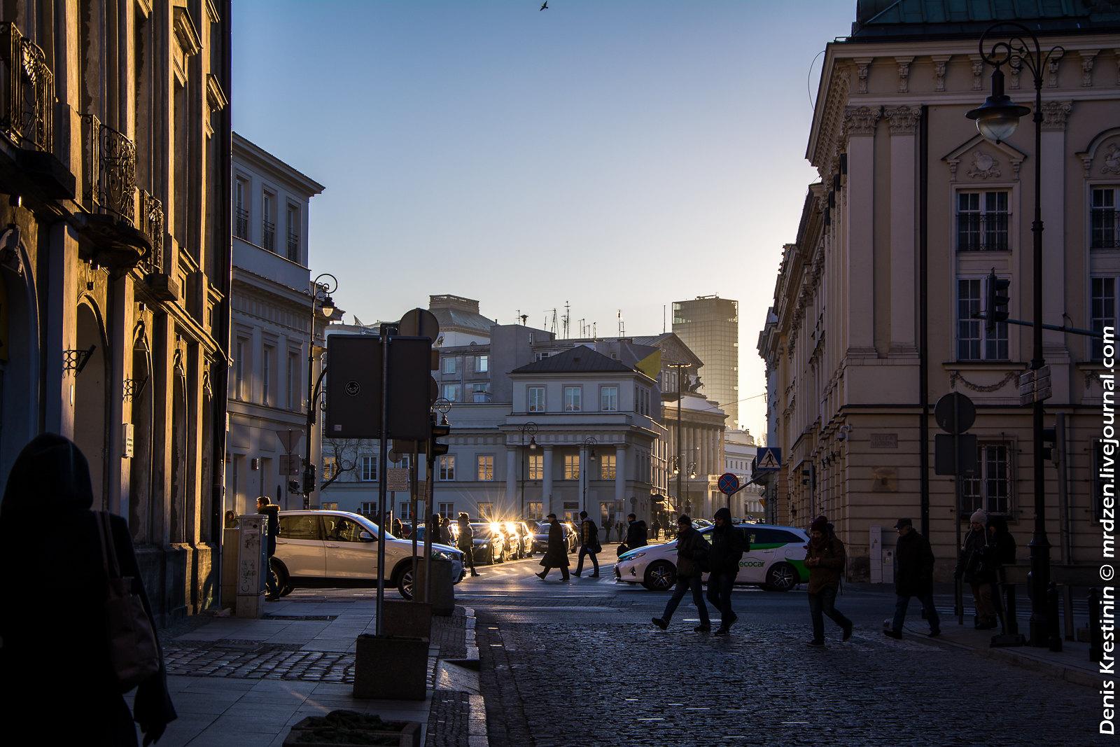 Варшава. Исторический центр.