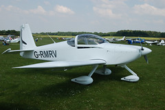 G-RMRV Vans RV-7A (PFA 323-14434) Popham 080608