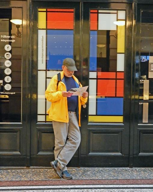 Blending into Mondrian, Nikon COOLPIX S9700