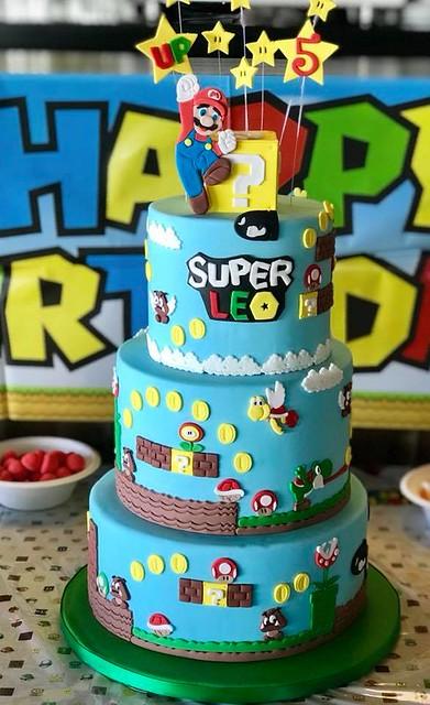 Super Mario Bros by Les gourmandises de Leo