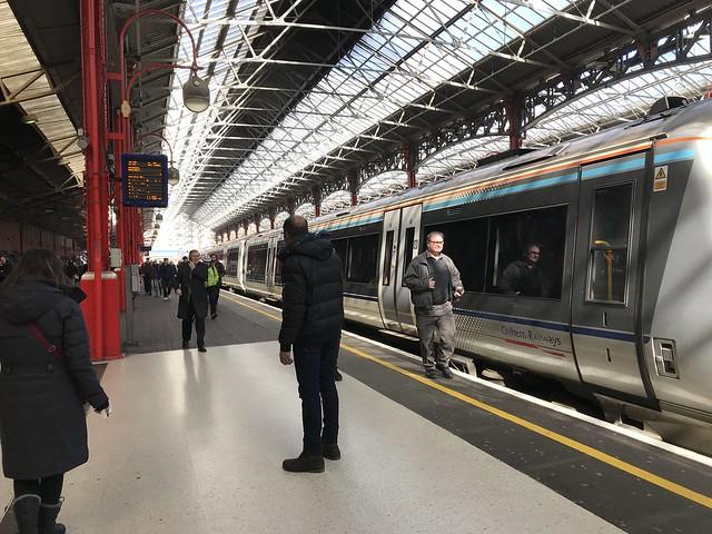 London train station  March 20, 2018
