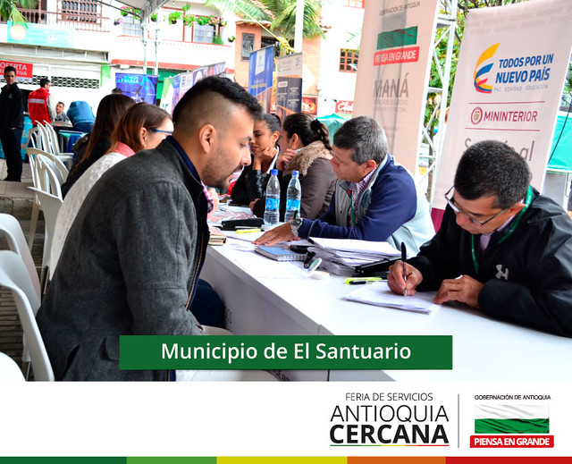 Feria de servicios Antioquia Cercana - El Santuario