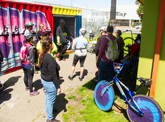 The Scraper Bike Shed, Oakland neighborhoods tour