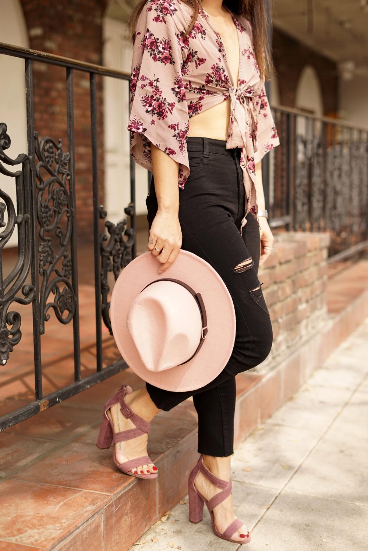 03floral-denim-fedora-hat-ootd-style