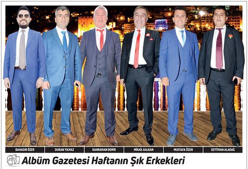 Bahadır Özer, Duran Yılmaz, Kahraman Demir, Mikail Kalkan, Mustafa Özen, Seyithan Aladağ