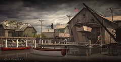 [STUDIOWORX] - 1957 Vermont - A storm is coming at Lake Champlain