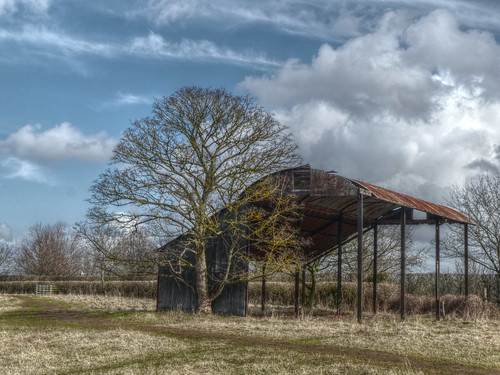 Grimley - the old barn