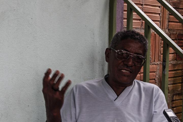 O assentado Raimundo Abreu Martins morava próximo de Fusquinha e Doutor no Assentamento Palmares.