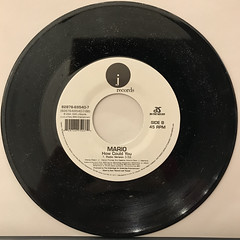 MARIO:LET ME LOVE YOU(RECORD SIDE-B)