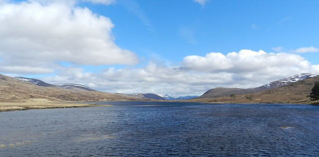 Loch Droma, Highlands of Scotland, April 2018