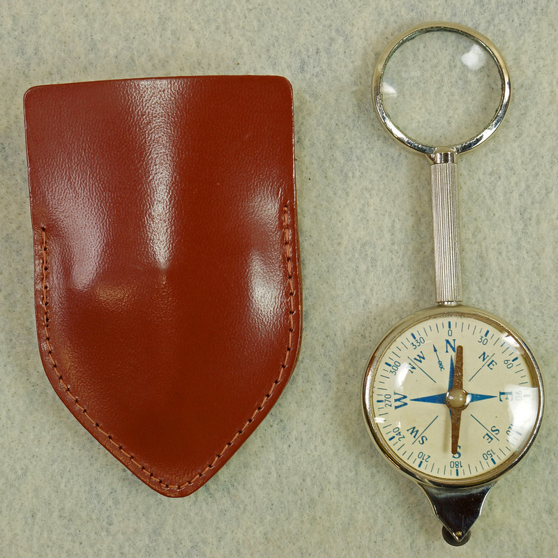 RD16962 Vintage Combination Map Measurer Curvimeter and Compass Western Germany DSC05241