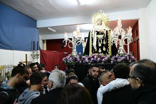 Suspendida la salida de la Virgen de las Angustias de la Misericordia el Viernes de Dolores