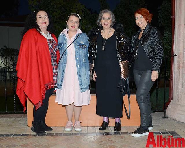 Aylin Paşaoğlu, Gülru Türkoğlu, Semra Kürkoğlu, Tijen Özdemirci
