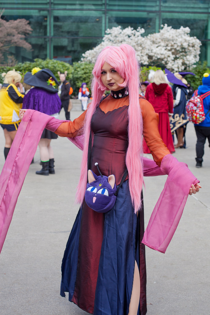Sakura Con 2018 Cosplay Black Lady From Sailor Moon Flickr