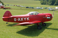 G-AXYK Taylor JT1 Monoplane (PFA 1409) Popham 080608