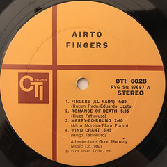 AIRTO:FINGERS(LABEL SIDE-A)