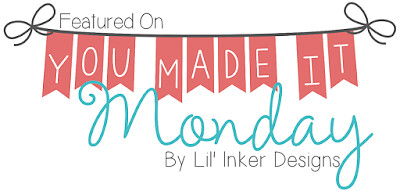 Lil Inker Designs - Featured On You Made It Monday Badge