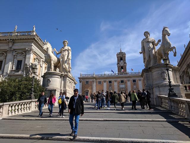 Michelangelo's Capitoline Steps