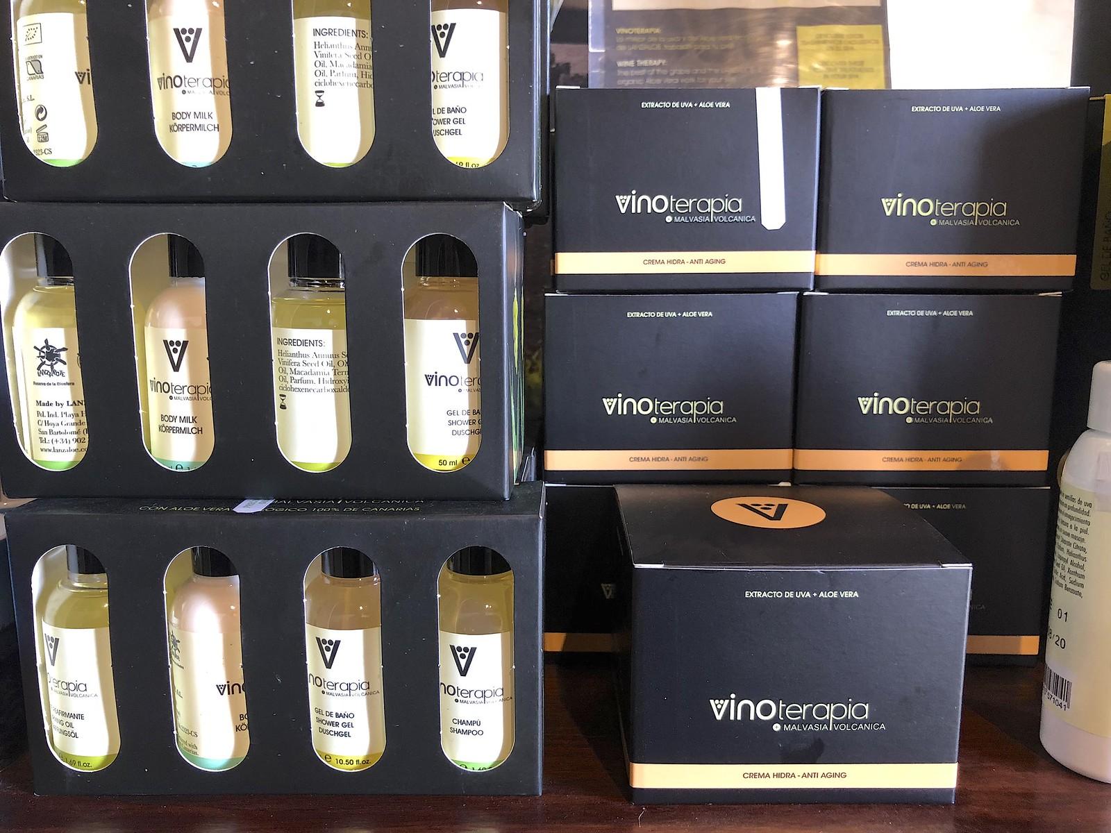 Lanzarote ja viini