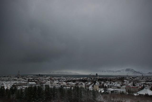 Perlan, Reykjavík, February 2018