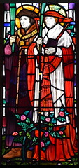St Thomas More and St John Fisher (Margaret Agnes Rope, 1931)