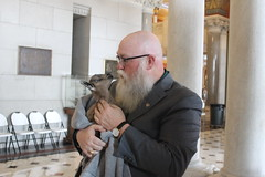 Rep. Buckbee & Billy Mo the Goat