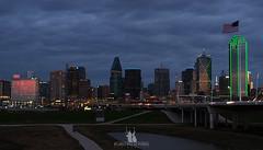Dallas Night Sky