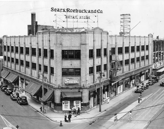 Sears Roebuck North Avenue Milwaukee Store Press Photo