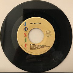 THE METERS:HAND CLAPPING SONG(RECORD SIDE-B)