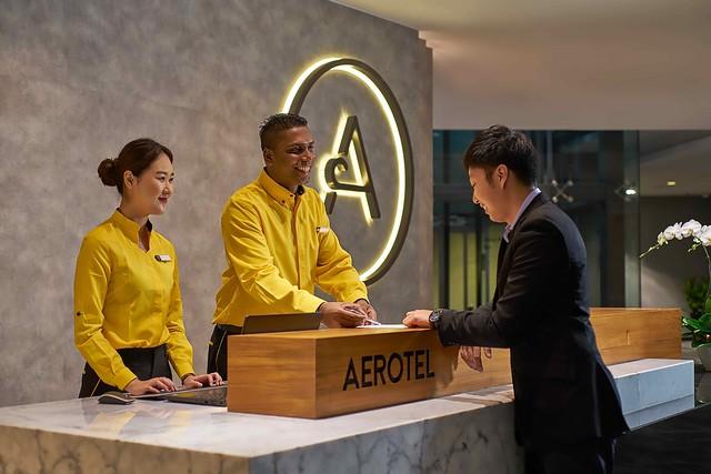 Aerotel Kuala Lumpur Reception