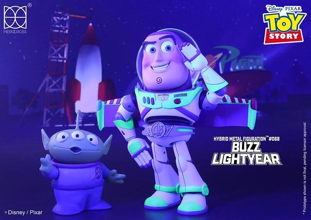 「飛向宇宙,浩瀚無垠~」HEROCROSS H.M.F. 系列《玩具總動員》巴斯光年 Buzz Lightyear H.M.F. #068