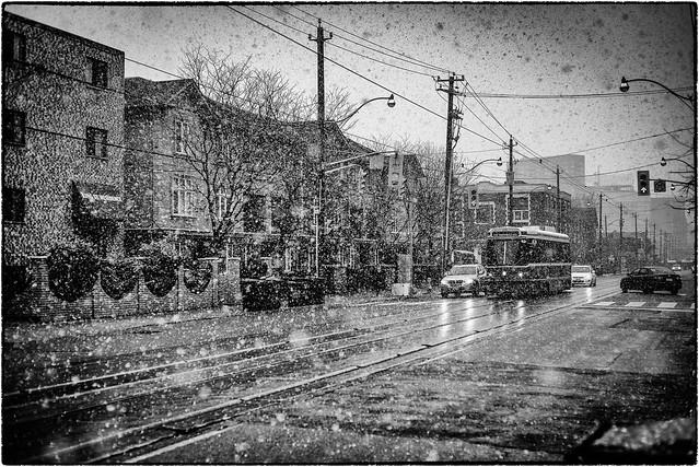 Snow On King