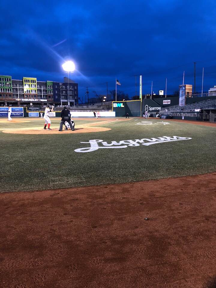 Lansing Lugnuts Take On The Great Lakes Loons In Home Opener