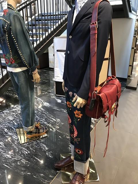 Gucci store mannequins
