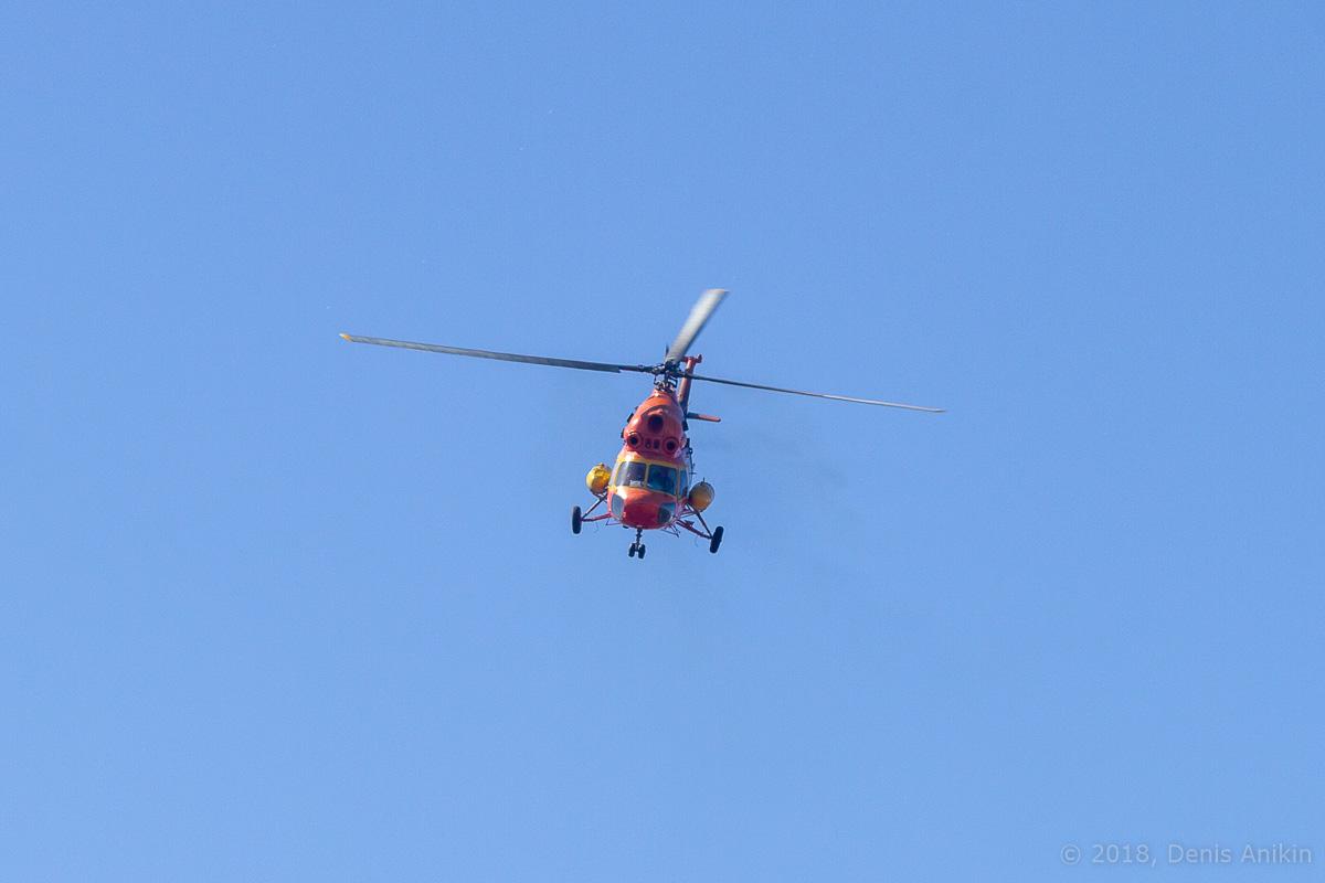 Вертолёт Ми-2 выступление фото 9