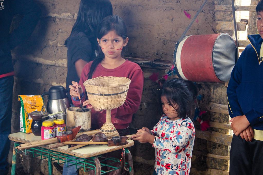 Semana cultural indígena na aldeia Tupã Nhe'é Kretã