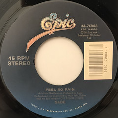 SADE:FEEL NO PAIN(LABEL SIDE-A)